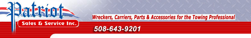 Tow Trucks and Towing Equipment and Supplies